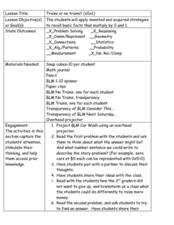 Multiplying by 0 and 1 Lesson Plan