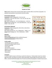 Seasons on a Farm Lesson Plan
