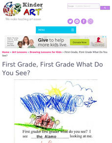 First Grade, First Grade, What Do You See? Lesson Plan