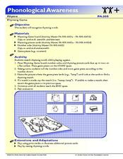 Rhyming Game Lesson Plan