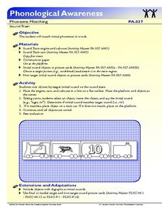Sound Train Lesson Plan