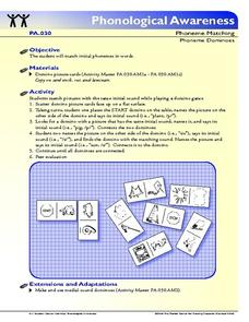 Phoneme Dominoes  Lesson Plan
