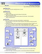 Sound Pictures and Picture Puzzles Lesson Plan