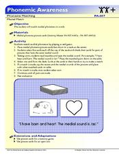 Medial Match Lesson Plan