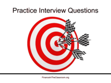 Practice Interview Questions Presentation