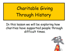 Charity throughout History Presentation