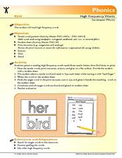 Sand Paper Words Lesson Plan