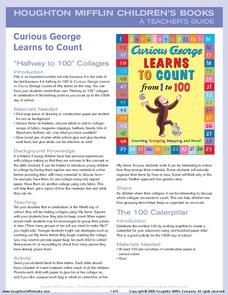 Curious George Learns to Count Activities & Project