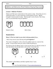 How Many Cans of Juice? Worksheet