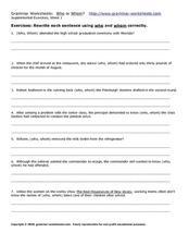 grammar worksheets who or whom worksheet for 6th 8th grade lesson planet. Black Bedroom Furniture Sets. Home Design Ideas
