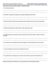Active and Passive Voice Worksheet 2 Worksheet
