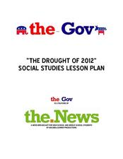 The Drought of 2012: Social Studies Lesson Plan Lesson Plan