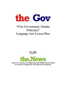City Government: Omaha Nebraska Lesson Plan