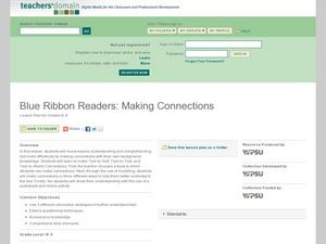 Blue Ribbon Readers: Making Connections Lesson Plan