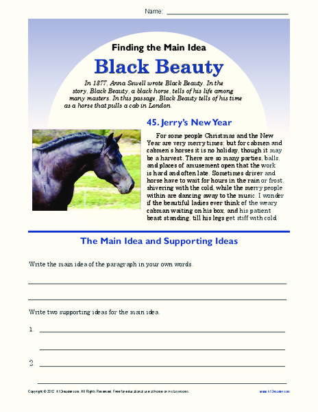 Black beauty lesson plans — img 8