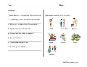 Getting Dressed and Ready Worksheet