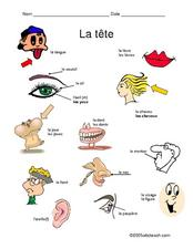 La Tête Worksheet