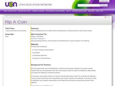 Flip A Coin Lesson Plan
