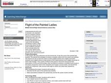Flight of the Painted Ladies Lesson Plan
