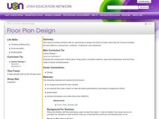 Floor Plan Design Lesson Plan