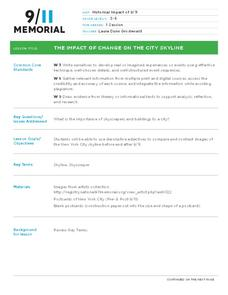 The Impact of Change on the City Skyline Lesson Plan