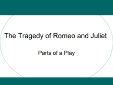 The Tragedy of Romeo and Juliet: Parts of a Play Presentation