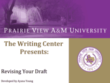Revising Your Draft Presentation