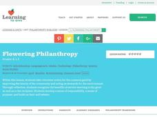 Flowering Philanthropy Lesson Plan