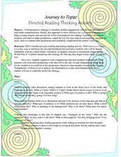 Journey to Topaz: Directed Reading Thinking Activity  Lesson Plan