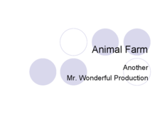 Animal Farm  Presentation