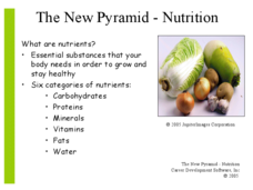 The New Pyramid - Nutrition Presentation