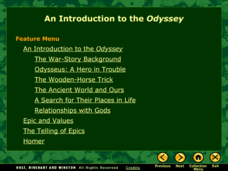 An Introduction to the Odyssey  Presentation