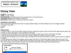 Flying Tube Lesson Plan