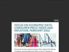 Focus on Economic Data: Consumer Price Index and Inflation, February 2012 Lesson Plan