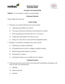 Everyday Conversation Skills Lesson Plan