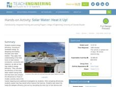Solar Water: Heat it Up! Unit
