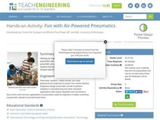Fun with Air-Powered Pneumatics Lesson Plan