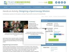 Designing a Spectroscopy Mission Lesson Plan