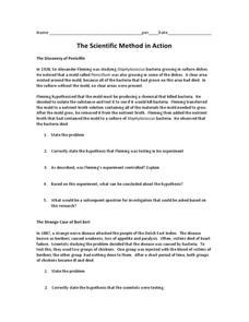 The Scientific Method in Action Worksheet