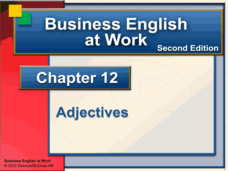 Business English at Work  Presentation