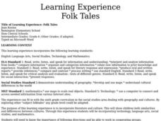 Folk Tales Lesson Plan