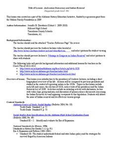 Indian Removal Act Lesson Plans & Worksheets | Lesson Planet