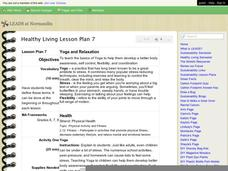 Healthy Living Lesson Plan 7 - Yoga and Relaxation Lesson Plan