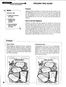 Follow the Clues Worksheet