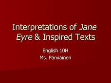 Interpretations of Jane Eyre & Inspired Texts  Presentation
