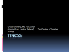 Tension: Creative Writing Presentation