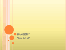 Imagery: Show, Don't Tell Presentation