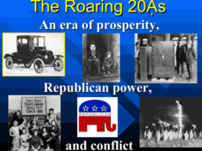 The Roaring 20s Presentation