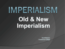Imperialism Old and New Presentation