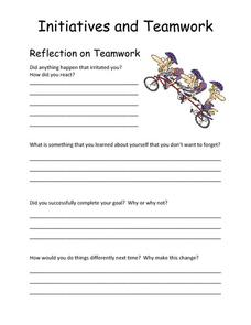 Teamwork Lesson Plans & Worksheets | Lesson Planet